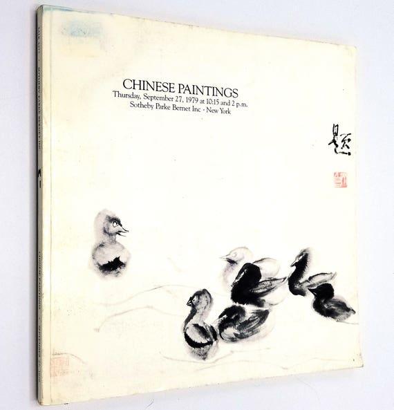 Chinese Paintings Thursday, September 27, 1979 Sale #4277 Sotheby Parke Bernet - Auction Catalog - New York