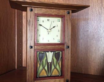 New Prairie Mantle Clock
