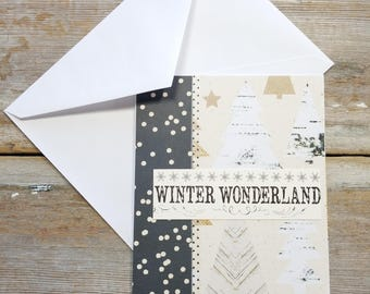 Winter Wonderland Cards - Winter Greeting Card - Winter Wonderland - Rustic Greeting Cards - Wonderland - Rustic Holiday Cards