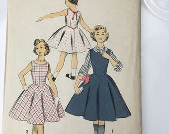 Advance dress pattern 7806 uncut