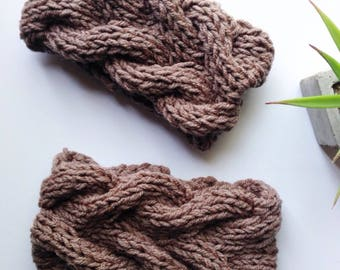 earwarmer, headband, knit headband, knit earwarmer,cable knit earwarmer, cable knit headband
