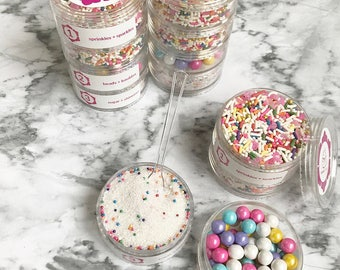 Girls just want to have fun frosted sprinkle system