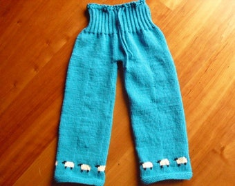 Baby pants, baby pants knitted