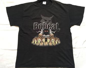 Vintage Bobcat shirt-Construction Equipment