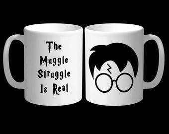 11oz The Muggle Struggle Is Real Harry Potter Mug