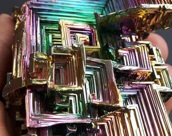 Massive Full Spectrum 358 Gram Bismuth Crystal