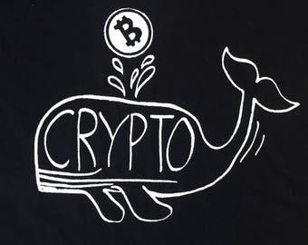 Crypto whale Tee or hoodie
