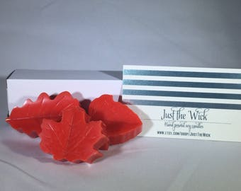 Leaf Shaped Wax Melts