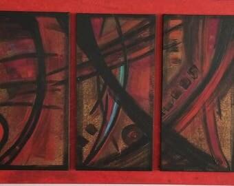 Signed Sena Tidwell Painting