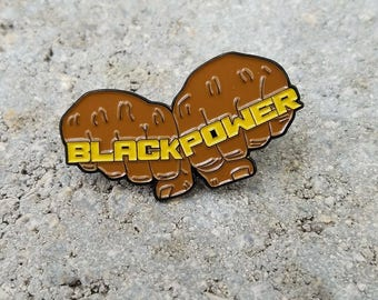 Black Power Pin/Fist Pin/Radio Raheem Enamel Lapel Pin
