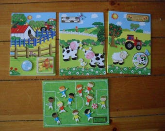 Four A5 Childrens Birthday Cards