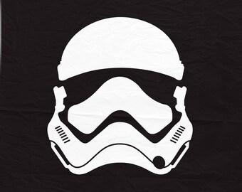 Star wars Storm trooper svg, Star wars svg, Star wars cricut, Storm trooper svg, Storm trooper cricut, Star wars cut.