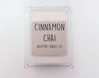 Cinnamon Chai Scented Soy Wax Melt - Wax Tart - 100% Soy Wax - Wax Melts - Wax Tarts - Wax Melter