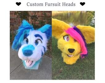 Custom Fursuit Heads!