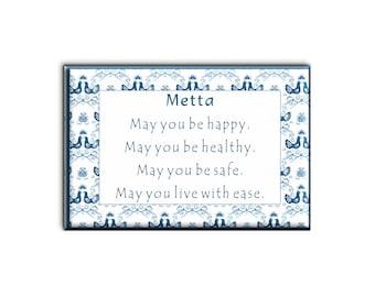 Metta Prayer Magnet