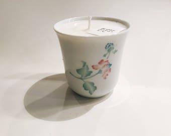Hyacinth Teacup Candle