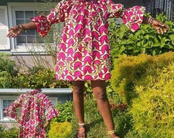 Free African print dress