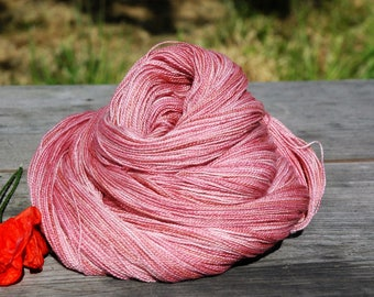 Momo Iro | Hand Dyed Lace Weight Yarn 800m/100g Extra Fine Merino & Silk