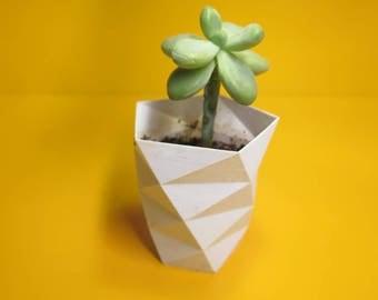Vase/Planted 3D Printed