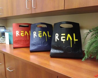 Tote REAL in yellow
