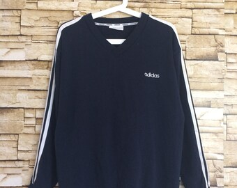 Sale Vintage ADIDAS sweatshirt v neck jumper