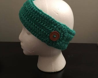 Button Ear Warmer