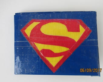 Superman Duct Tape Wallet