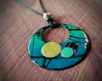 Circle in a Circle Necklace