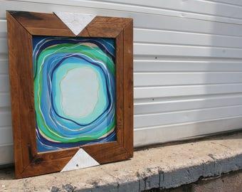 "Pallet Wood Art- ""Hurricane"""