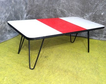 Mid-Century Hairpin Formica Table