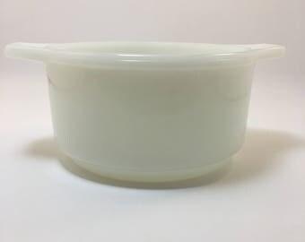 Dynaware Pyr-O-Rey Small Single Serve Casserole/Baking Dish-White