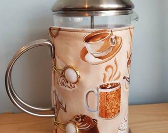 French Press Coffee Cozy, French Press Warmer