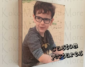 Custom Portraits, Custom Pictures, Personalized Pictures, Pictures