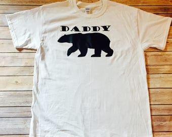 Protective dad shirt etsy daddy bear shirt mens shirt cute mens shirt for new daddys protective dad publicscrutiny Image collections