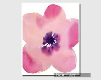 Pink flower petal