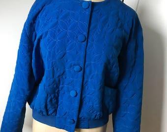 80s vintage bomber jacket
