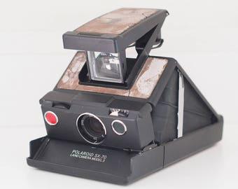Vintage Polaroid SX-70 Land Camera Model 3 Instant Film Impossible Parts Repair Design Decor 1970s