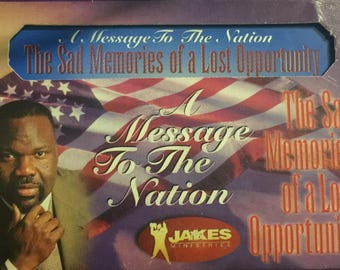 Sad Memories of a Lost Opportunity by T. D. Jakes (1999, Cassette)