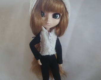 Panda suit for Pullip Stock, Obitsu 27 hard, Obitsu 27 soft