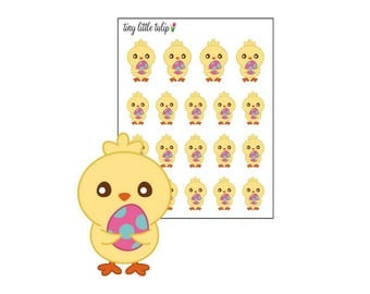 Planner Stickers Chick w/ Egg