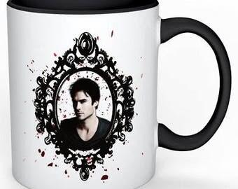 Vampire diaries ~Damon~/Elena mug