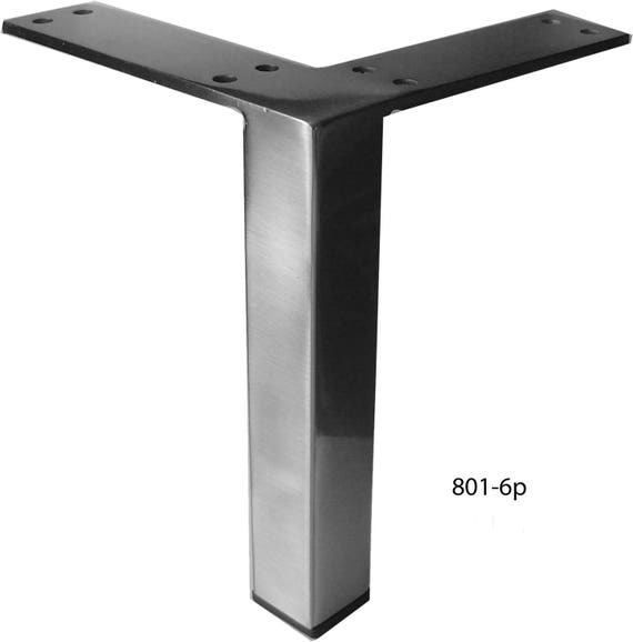 Straight Square Metal Furniture Leg Sofa Or Cabinet Feet