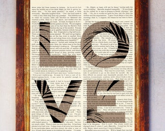 Love Dictionary Quote Art, Love Floral Wall Art, Love Floral Print, Book Page Art Print, Love Quote Poster, Dictionary Art Print Love