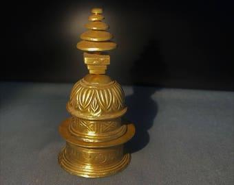 ancient  gandhara gold stupa
