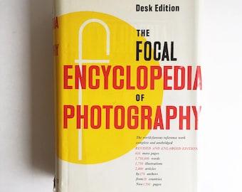 "1969 Photography Book, ""Focal Encyclopedia of Photography, Desk Edition"""