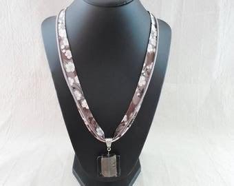 Liberty grey necklace