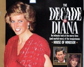 Summer Sale People Magazine Fall 1990 The Decade of Diana