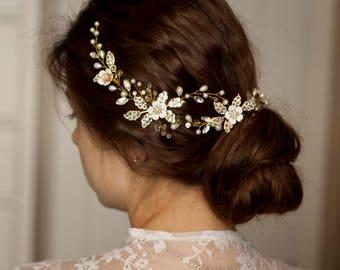 Bridal hairpiece Wedding hairpiece Bridal headpiece Wedding headpiece Bridal headband Bridal hair piece Wedding hair accessories Bridal comb