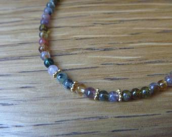 Bracelet gemstone amethyst