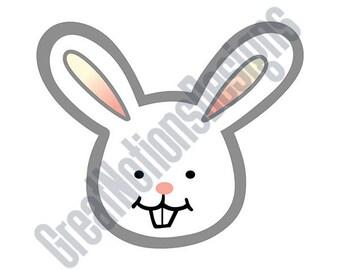 Boy Bunny SVG - HTV - Vinyl Cutting Graphic Art